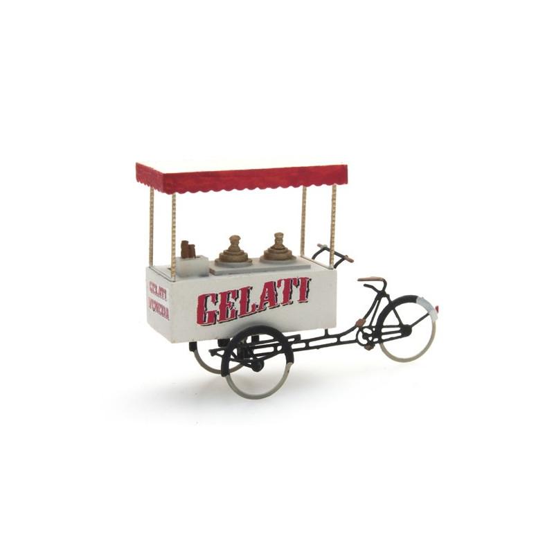 Tricycle du marchand de glaces