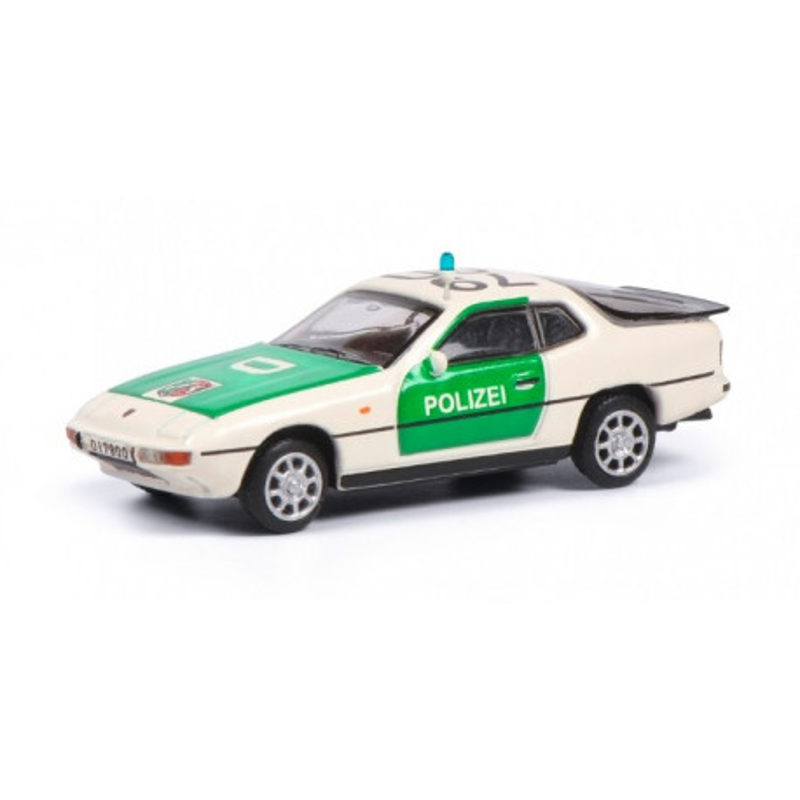 Porsche 924 police