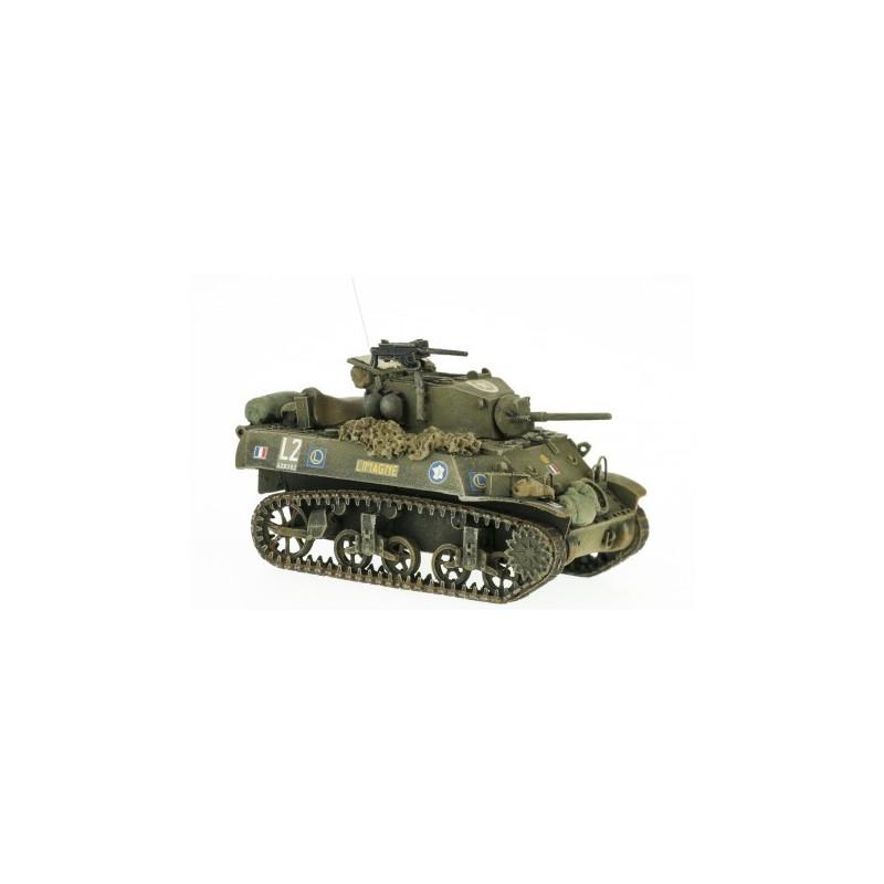"""Stuart M5A3 """"LIMAGNE"""" GTL (Groupement Tactique Langlade) - H0"""