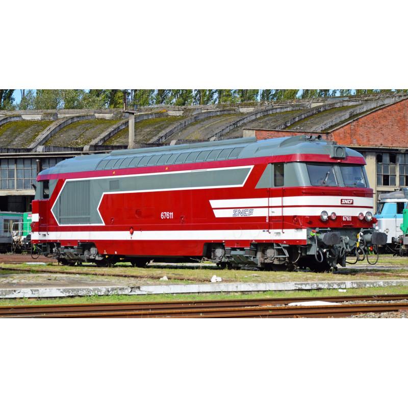BB 67613 - livrée rouge Capitole