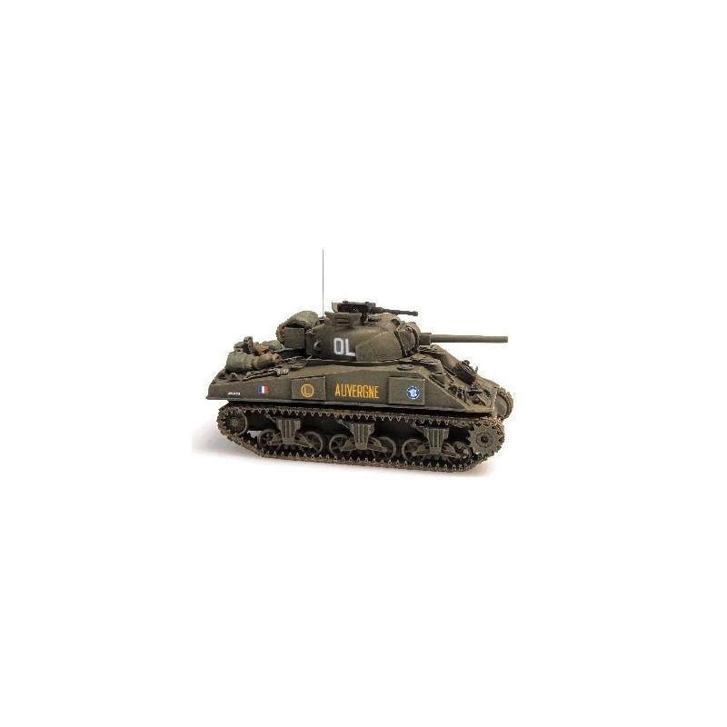 """Sherman M4A2 """"AUVERGNE"""" GTL (Groupement Tactique Langlade) - H0"""