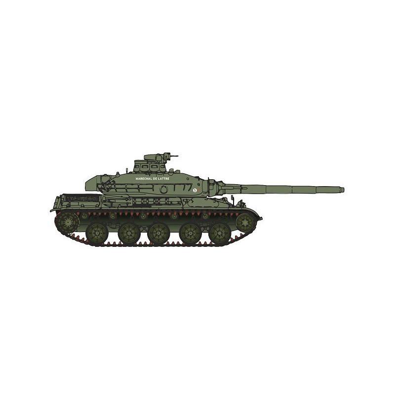 """AMX 30B - 1 DB - Char du Chef de Corps """"Maréchal de Lattre"""" - époque III - H0"""