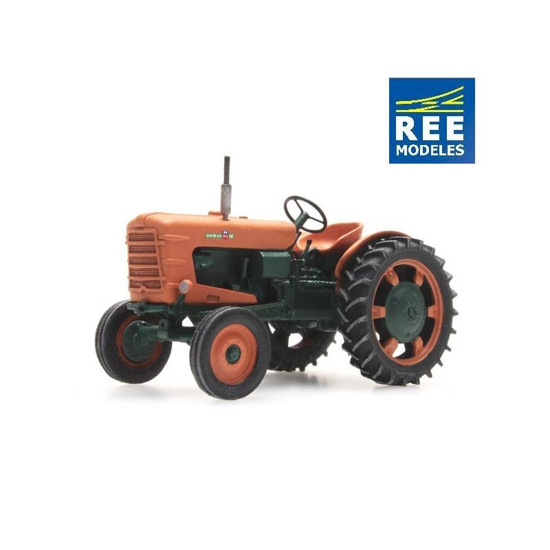 Tracteur Someca - roues étroites - neuf - époque III - H0