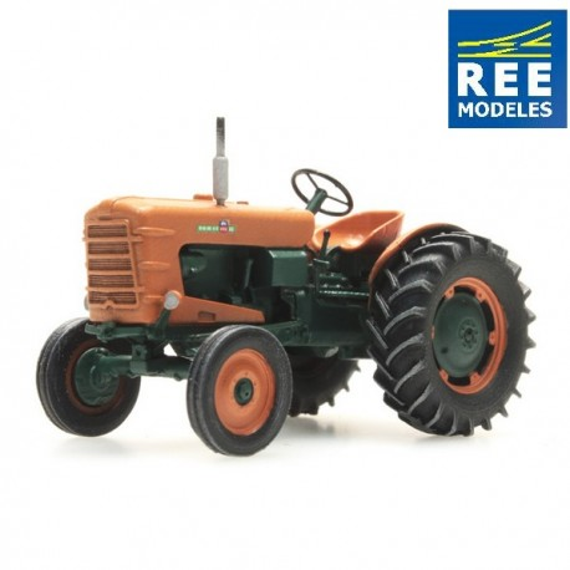 Tracteur Someca - roues larges - neuf - époque III - H0