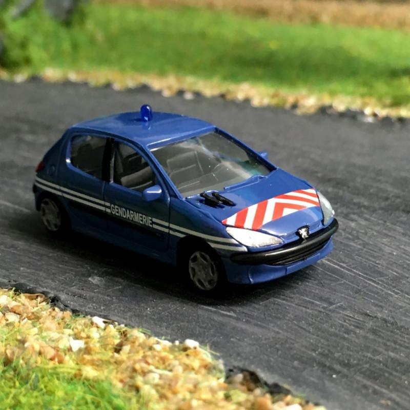 206 Peugeot - Gendarmerie - H0