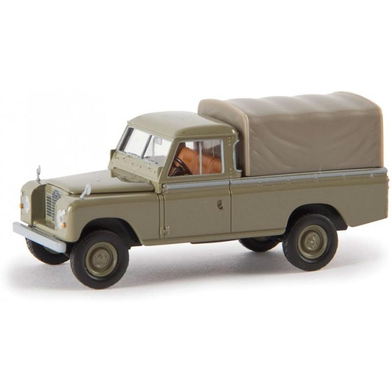 Land Rover 109 bâché kaki - H0