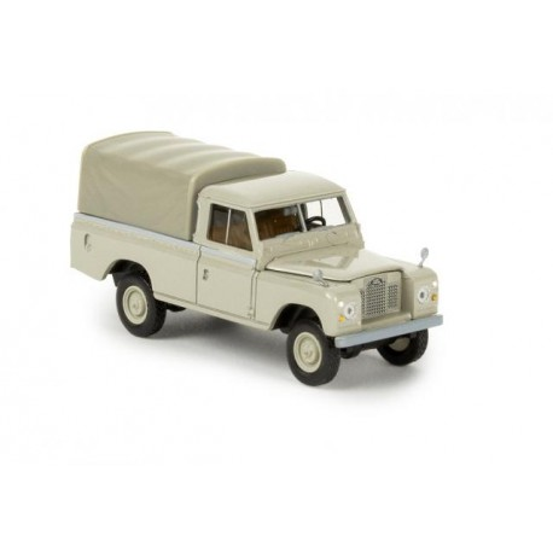 Land Rover 109 bâché gris - H0