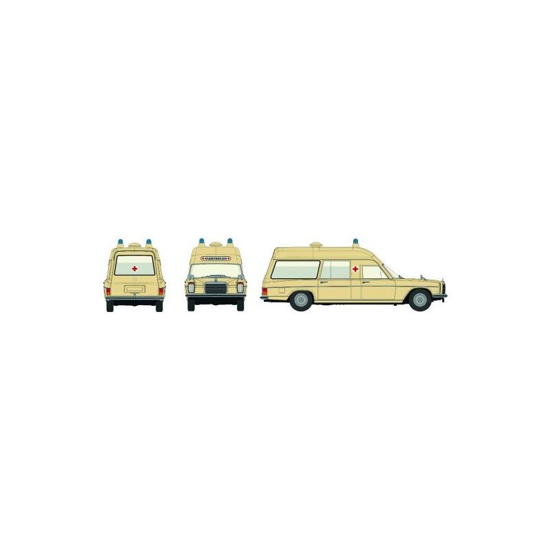 MB /8 Ambulance beige - H0
