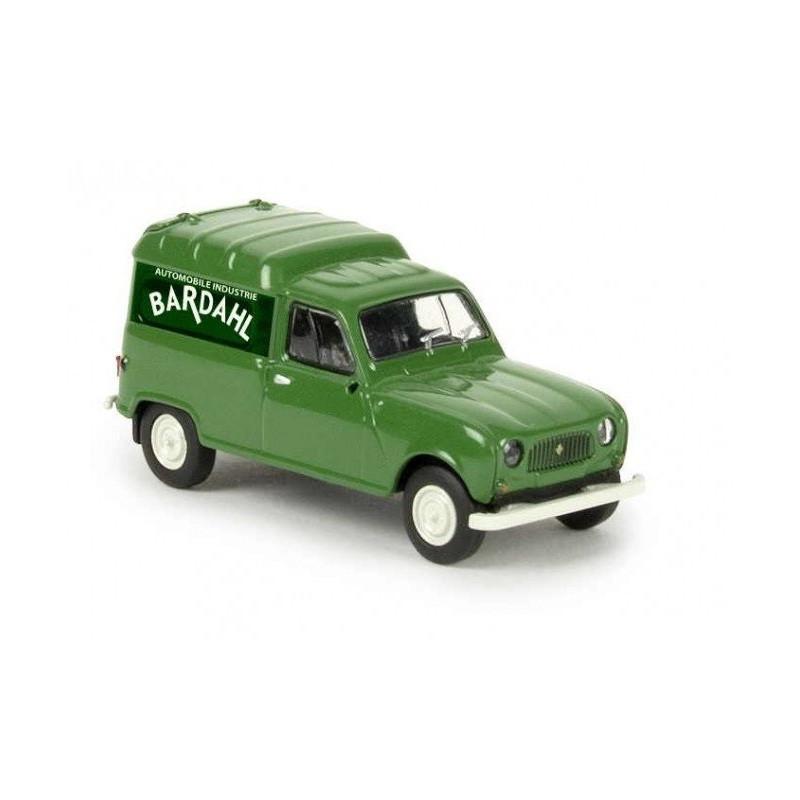 R4 fougonnette 1961 - enseigne Bardhal - H0