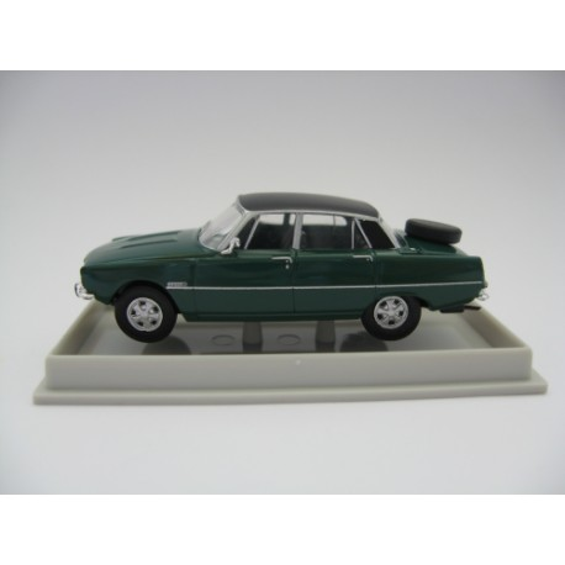 P6 limousine vert émeraude + roue secours - H0