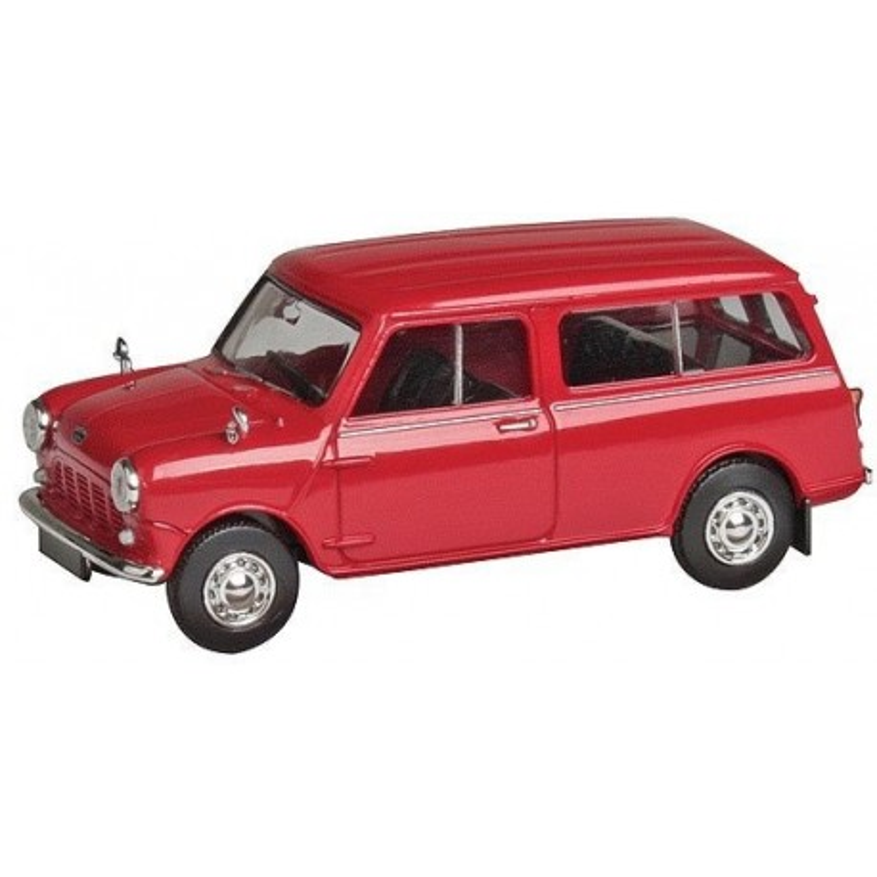 Austin Mini Countryman rouge - H0