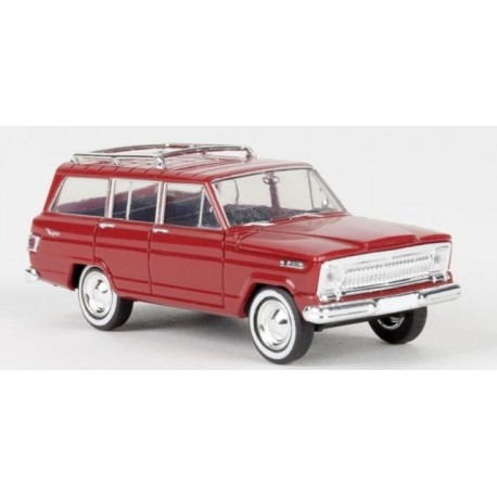 Jeep Wagoneer rouge - H0