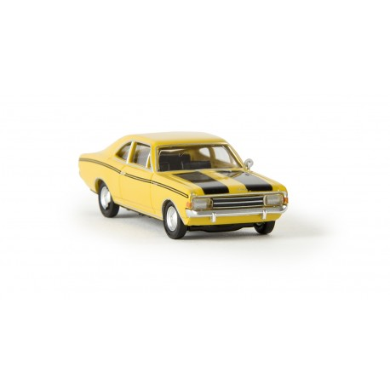 Opel Rekord C coupé sport - jaune - H0