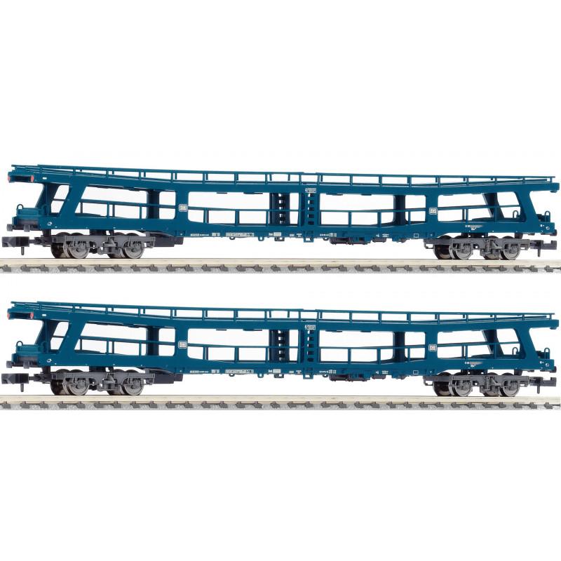 Wagons porte-auto type DDm  x2