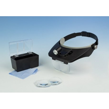 Loupe frontale binoculaire + LED