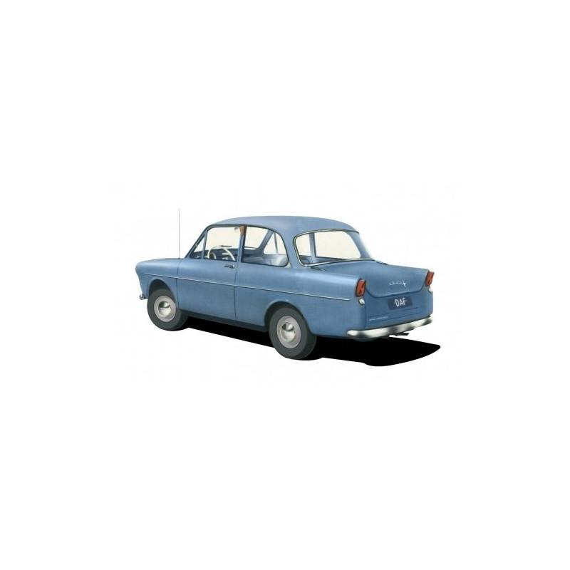 DAF 600 bleu pastel - H0