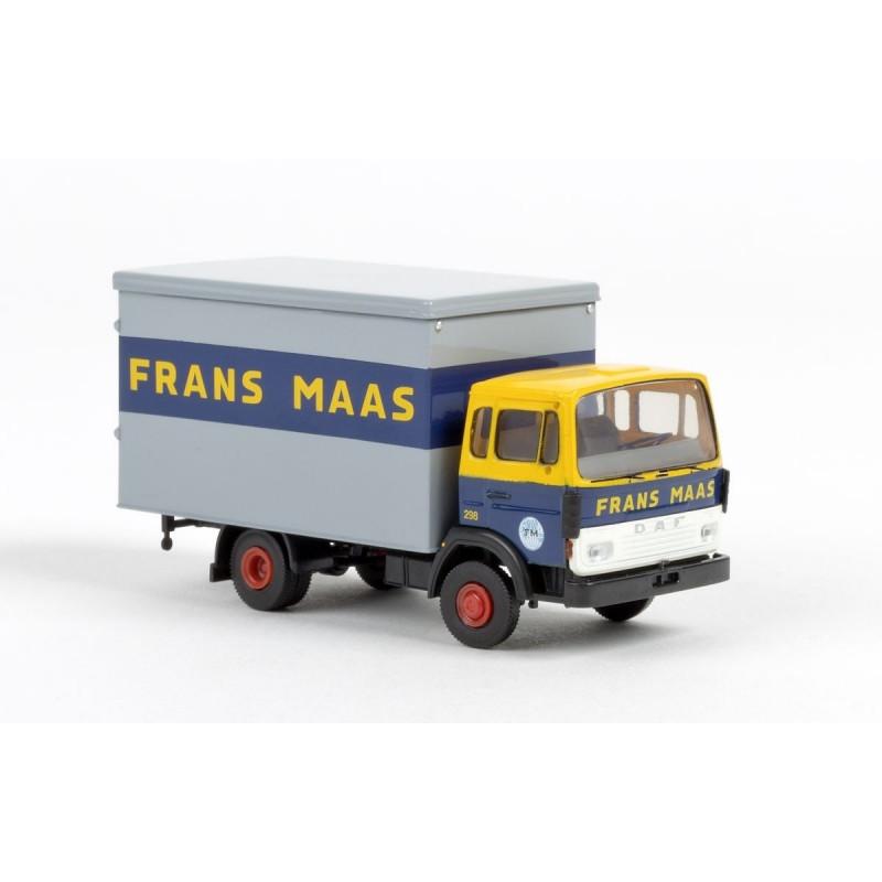 """DAF 900 Koffer """"Frans Maas"""" - H0"""