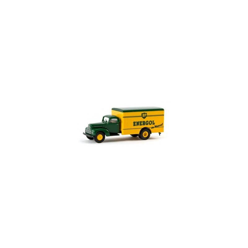 Ford FK 3500 fourgon enseigne BP Energol - H0