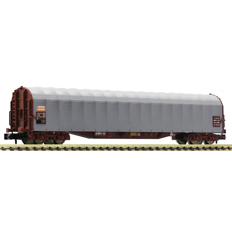 Wagon à bâche coulissante type Rils