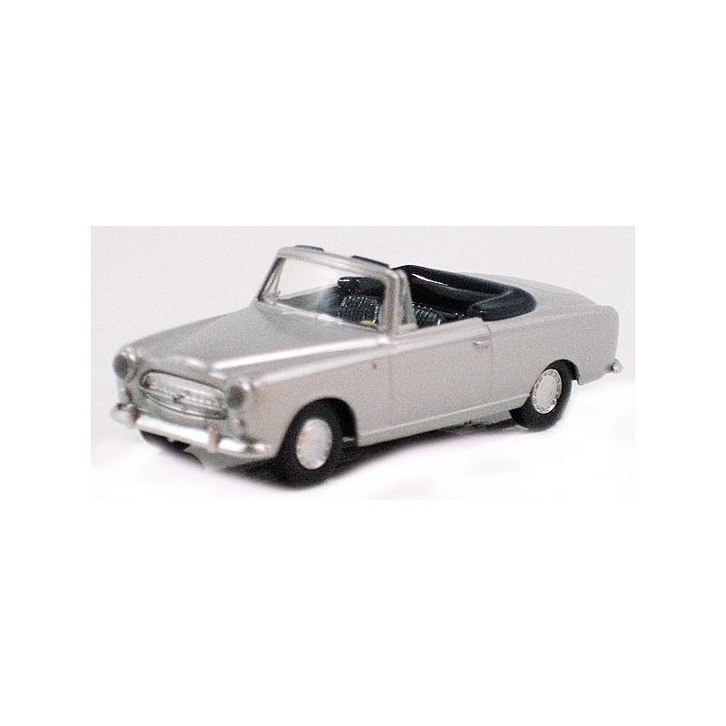 403 cab ouvert - gris métal - H0