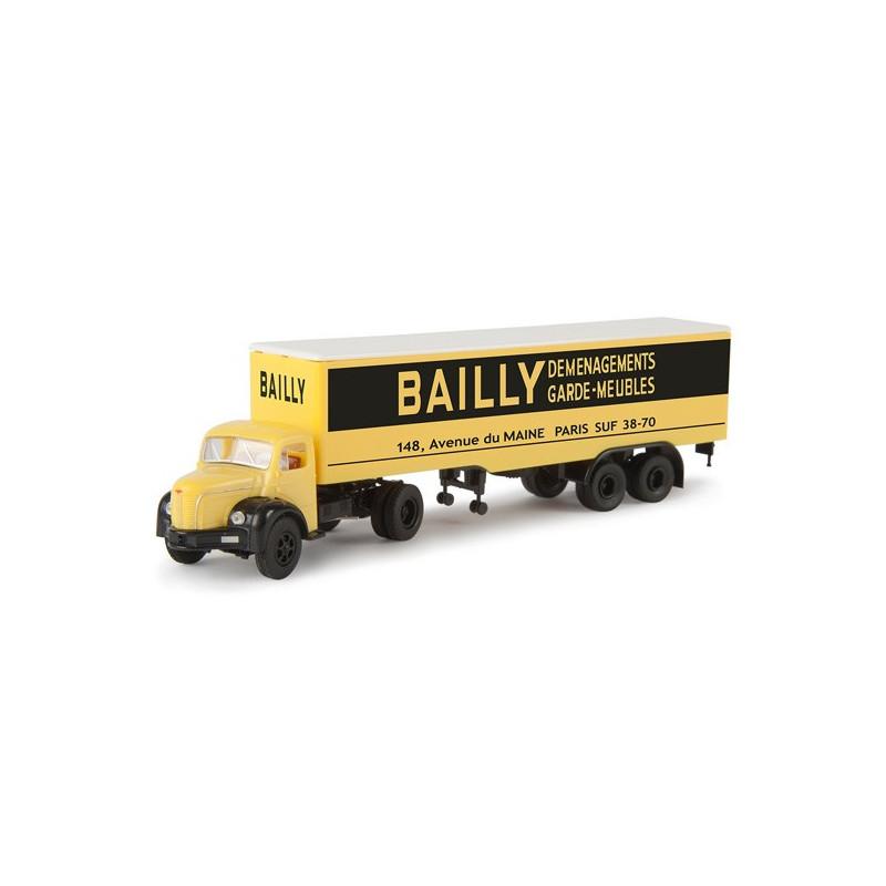 "Semi TLR 8 tôlé enseigne ""BAILLY"" - H0"