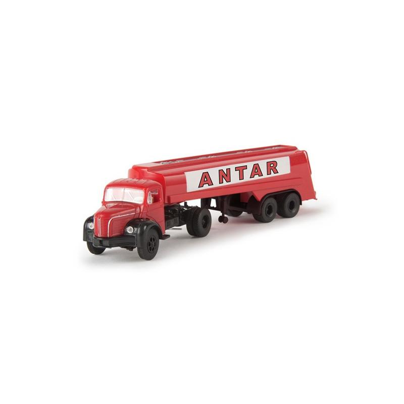 "Semi TLR 8 + citerne enseigne ""ANTAR"" - H0"