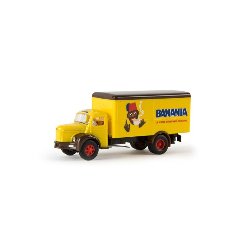 GLR 8 Berliet tôlé enseigne Banania - H0