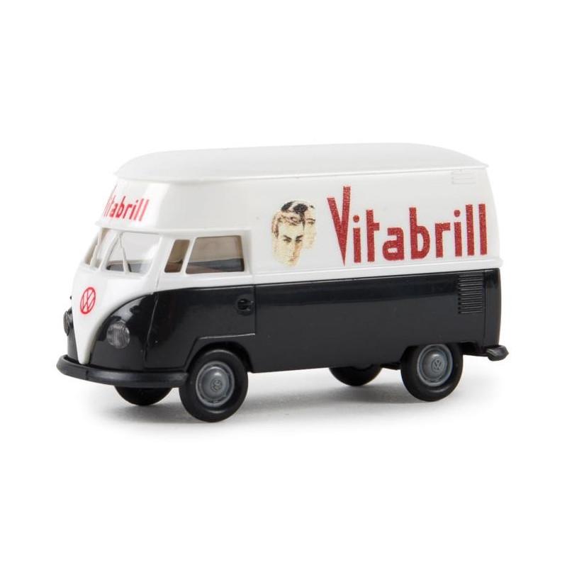 """VW T1 rehaussé enseigne """"Vitabrill"""" - époque III - H0"""