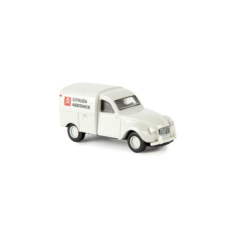 2CV AZU fourgonnette 1961 enseigne Citröen services - H0
