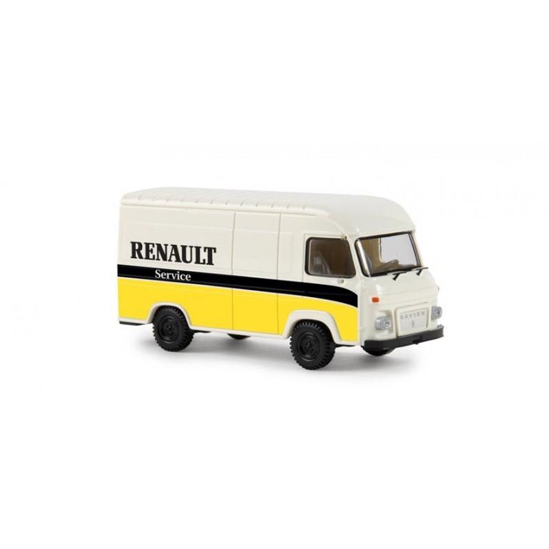 """Saviem SG2 - enseigne """"Renault service"""" - époque III - H0"""