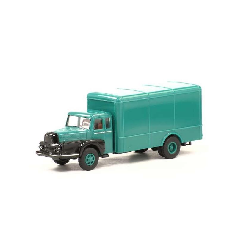Unic ZU 122 Izoard vert/noir - H0