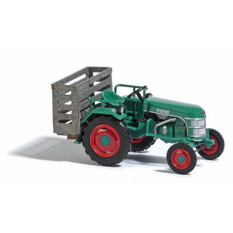 Tracteur Kramer KL11 + caisse de transport - H0