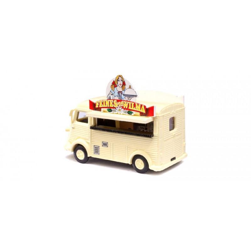 "Camionnette H ""tube"" food-truck - H0"