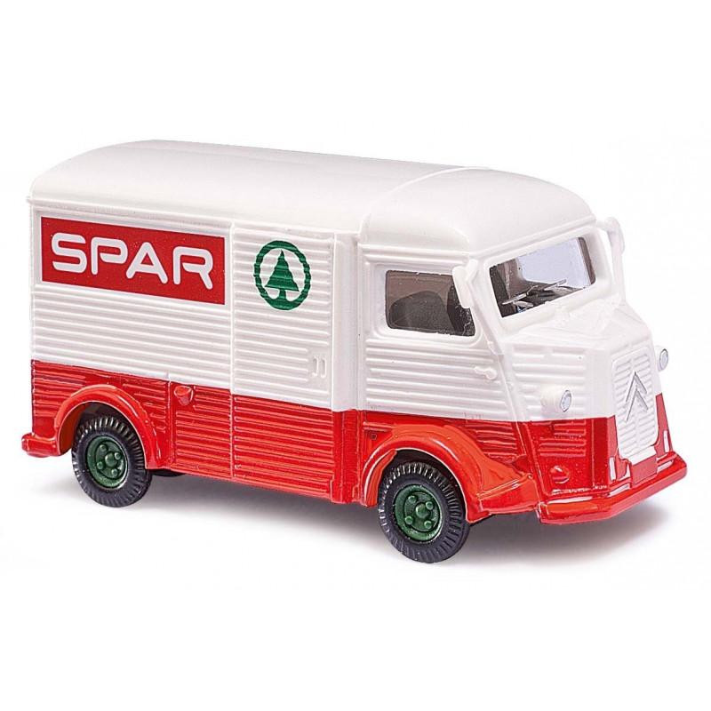 "Camionnette H ""tube"" enseigne SPAR - H0"