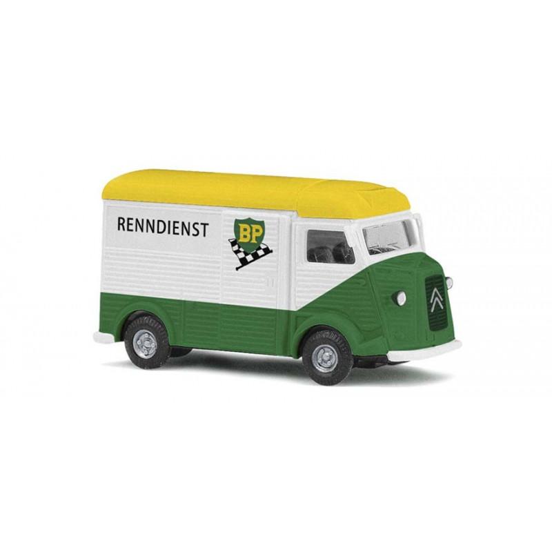 """Citroën Camionnette H """"tube"""" enseigne BP - H0"""