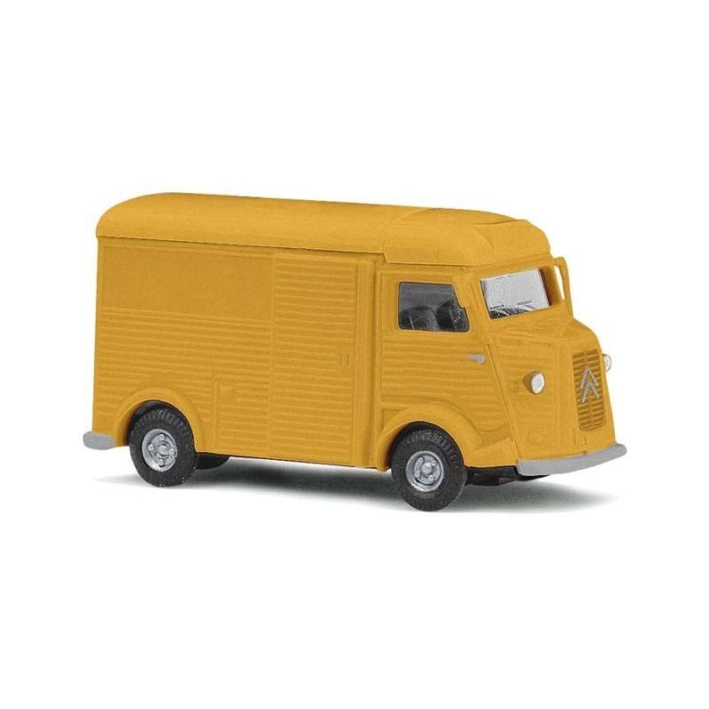 """Citroën Camionnette H """"tube"""" 1958 jaune - H0"""