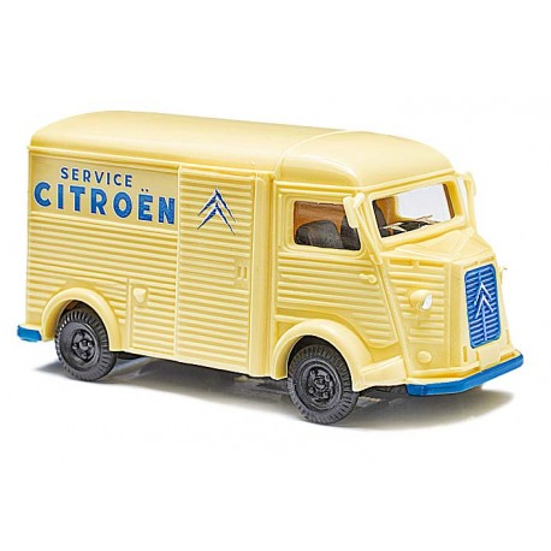 """Citroën Camionnette H """"tube"""" enseigne Citroën Service - H0"""