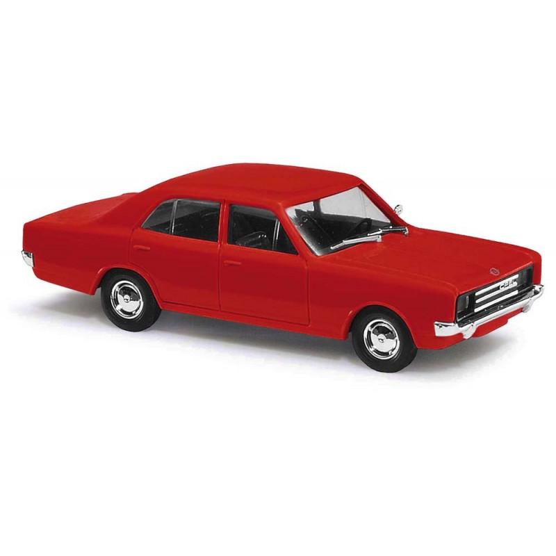 Opel Rekord C 1966 rouge - H0