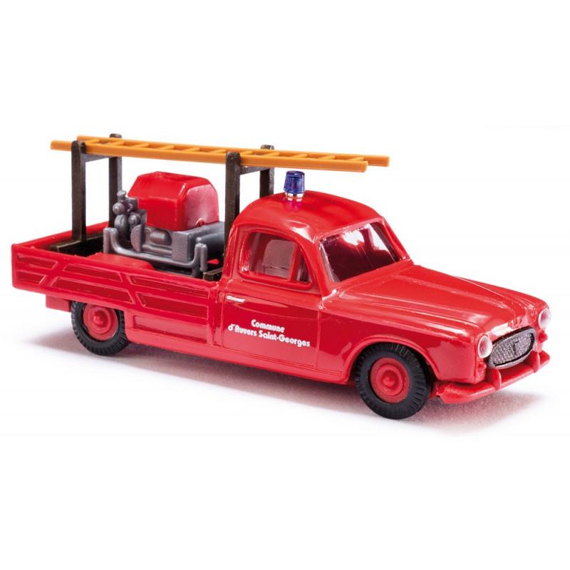Peugeot 403 pompiers - époque III - H0