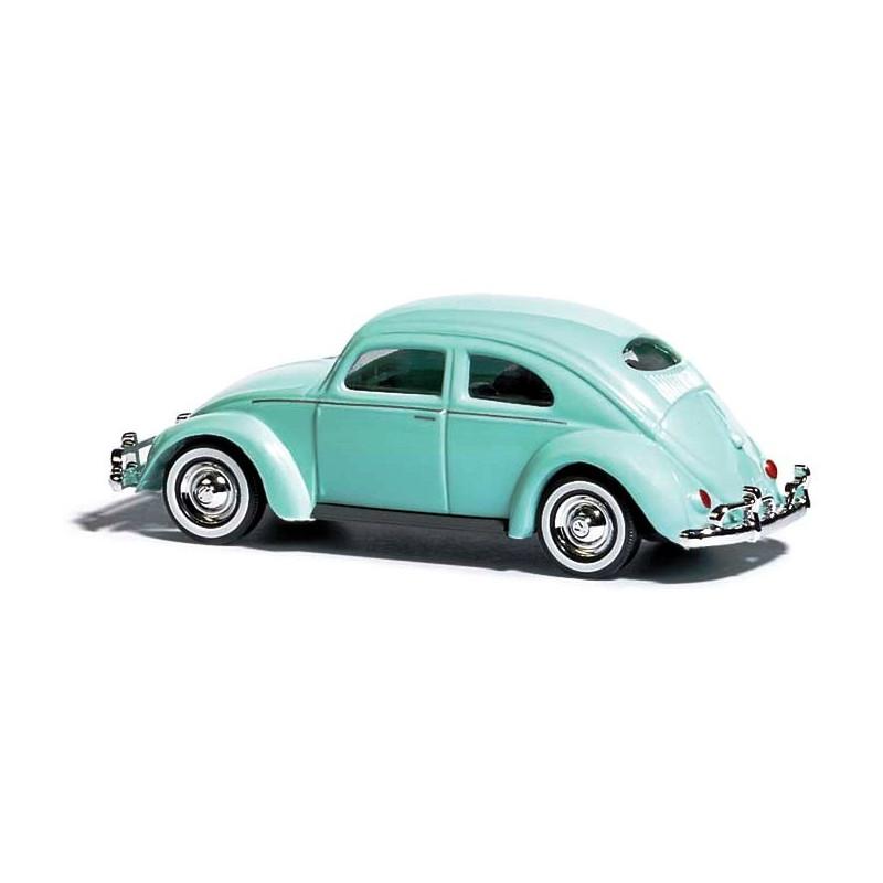 VW Coccinelle bleue - H0