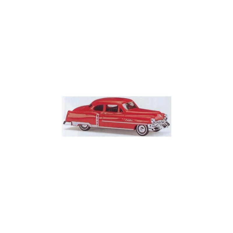 Cadillac limousine 1952 violette - H0