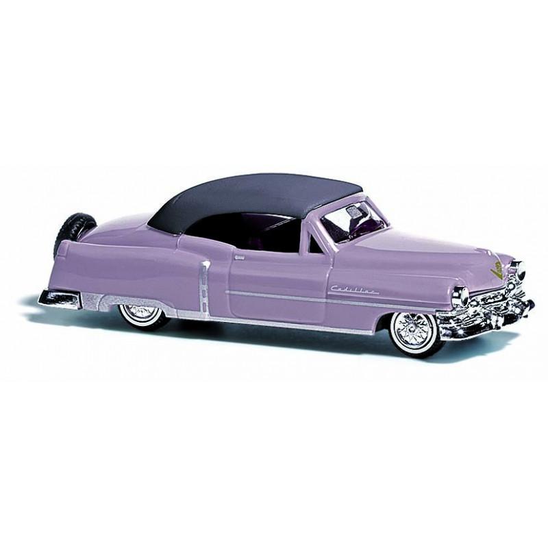 Cadillac cabriolet 1952 rose - H0