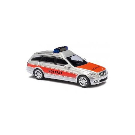 "Mercedes Benz Classe C break ""Notarzt"" orange - HO"