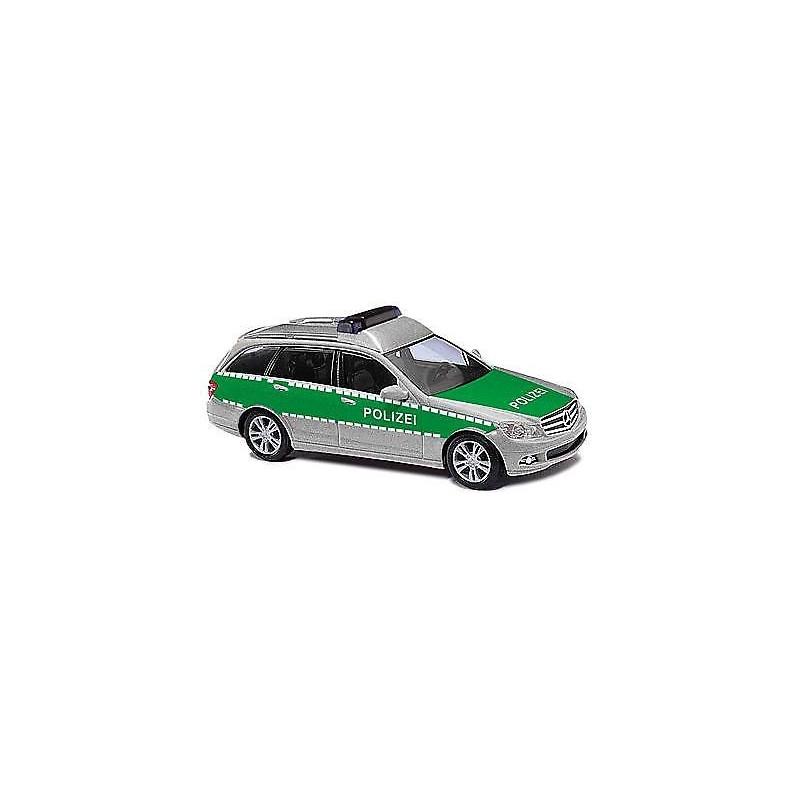 "Mercedes Benz Classe C break ""Police"" verte - H0"