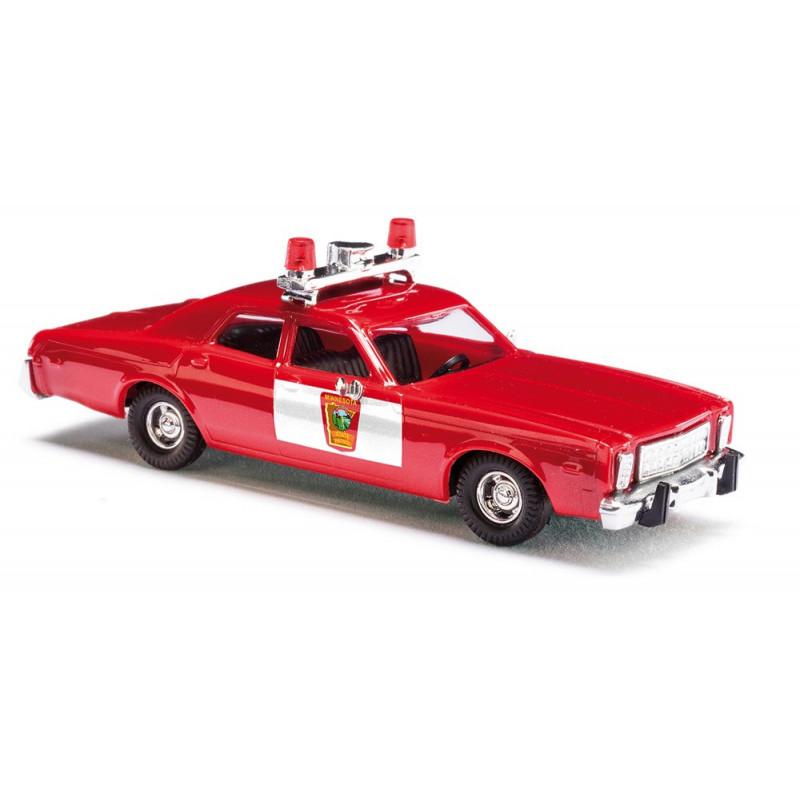 Plymouth Fury »Minnesota State Patrol« - époque III - H0