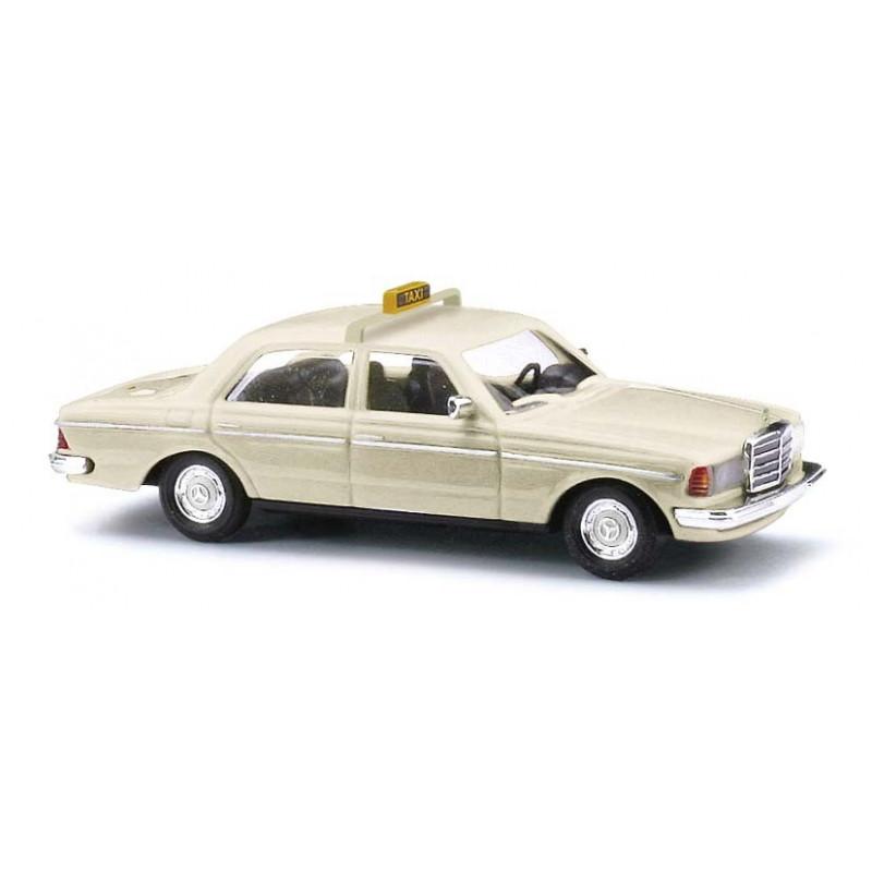 Mercedes Benz W123 limousine taxi 1977 crème - H0