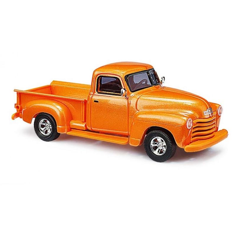 Chevy pick-up orange métalisé - H0