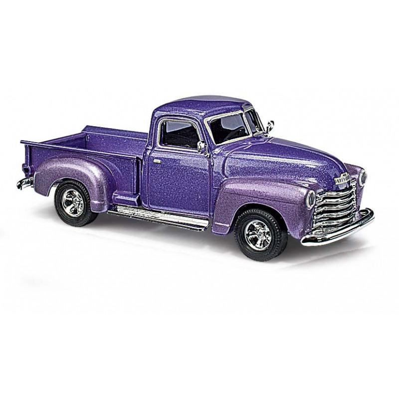 Chevy pick-up violet métalisé - H0