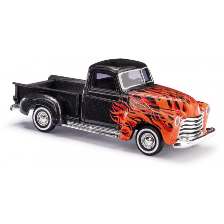 "Chevy Pick-up ""Red Flame"" - H0"