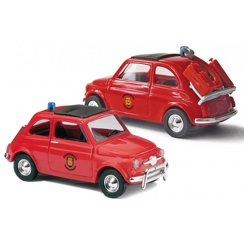 Fiat 500 pompier Pays-Bas - H0